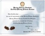 Advanced Boxing Certificate